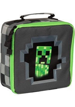 Minecraft Creepy Creeper Lunch Box