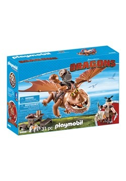 Playmobil How to Train Your Dragon Fishlegs and Meatlug