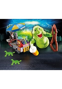 Playmobil Slimer with Hot Dog Stand Alt 1