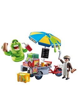 Playmobil Slimer with Hot Dog Stand Alt 2