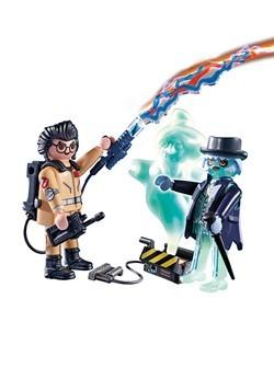 Playmobil Spengler and Ghost Alt 1