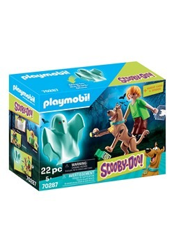 Playmobil SCOOBY-DOO! Scooby & Shaggy with Ghost