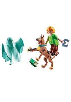 Playmobil SCOOBY-DOO! Scooby & Shaggy with Ghost Alt 1