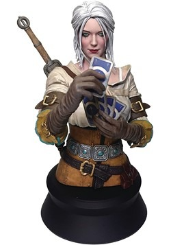 The Witcher 3 Wild Hunt Ciri Playing Gwent Bust