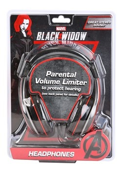 Black Widow Youth Headphones
