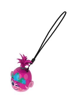 Trolls 2 Mini Character Bluetooth Speaker - Poppy