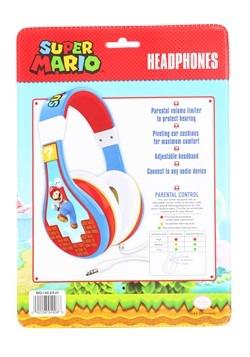 Super Mario Bros Youth Headphones Alt 1