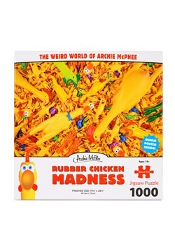Rubber Chicken Madness Jigsaw Puzzle