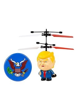 Donald Trump Motion Sensing 3.5 Inch UFO Helicopte