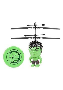 Marvel Avengers Hulk Buster Flying Figure IR Helicopter