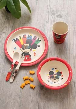 Mickey Shades 5pc Dinnerware Set-update
