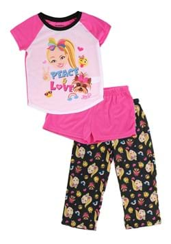 Jojo Siwa Sleepwear Short 3 Piece Set
