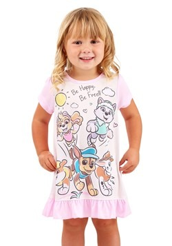 Toddler Paw Patrol Be Happy Dorm Sleep Gown