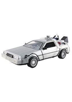 Back to the Future Time Machine Delorean 1:24 Scale Die Cast