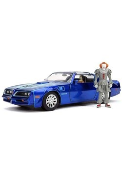IT 1977 Pontiac Firebird w/ Pennywise 1:24 Scale D