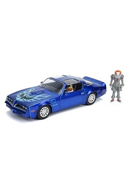 IT 1977 Pontiac Firebird w/ Pennywise 1:24 Scale D Alt 1