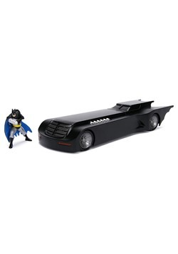 Animated Series Batmobile w/ Batman 1:24 Due Cast