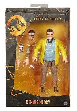 Jurassic World Amber Collection Dennis Nedry Action Figure A