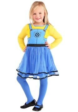 2 Piece Girls Minions Dress Set Upd