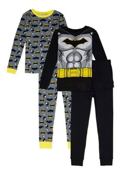 Batman 4 Piece Sleepwear Set