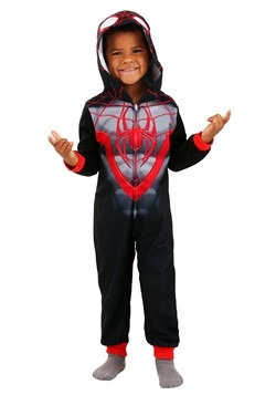 Miles Morales Spider-Man Blanket Sleeper