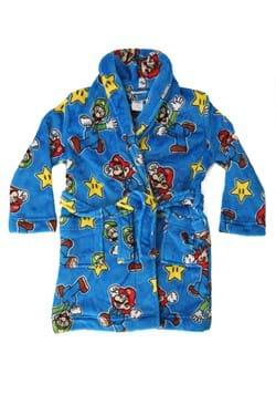 Allover Mario Print Kids Robe