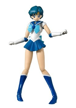 Pretty Guardian Sailor Moon Sailor Mercury Bandai Tamashii N