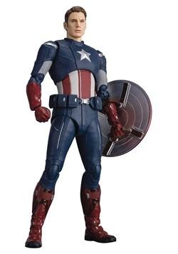 Avengers: Endgame Captain America Cap vs Cap SH Figuarts Act