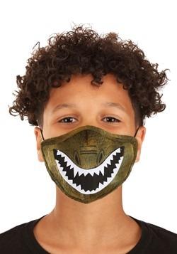 Child Dinosaur Sublimated Face Mask