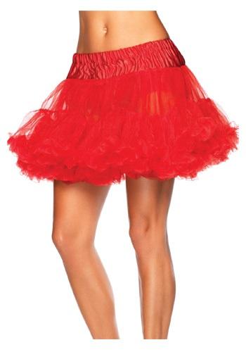 Red Devil Tulle Petticoat