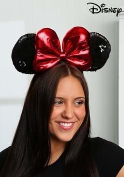 Minnie Black Sequin Ears Headband