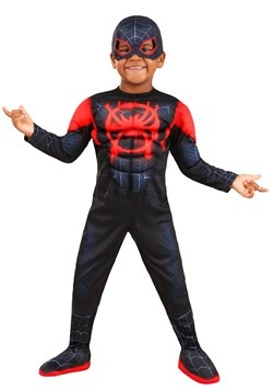 Spiderman Deluxe Miles Morales Toddler Costume Main