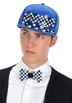 Bricky Blocks Blue Snapback Hat