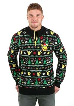 Adult Festive Pokemon Ugly Christmas Sweater