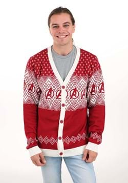 Adult Marvel Avengers Ugly Christmas Cardigan Swea