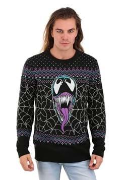 Adult Marvel Merry Venom Ugly Christmas Sweater
