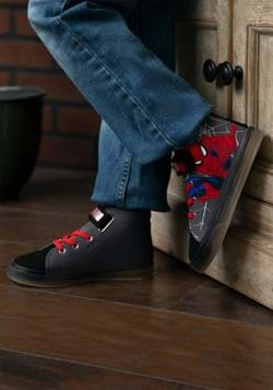 Spiderman Lighted Canvas Shoe-1