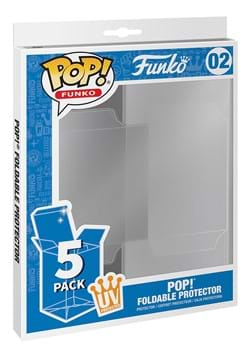 Funko POP Protector 5 Pack Foldable POP Protector UV