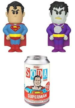 Vinyl SODA: DC Comics- Superman w/Chase
