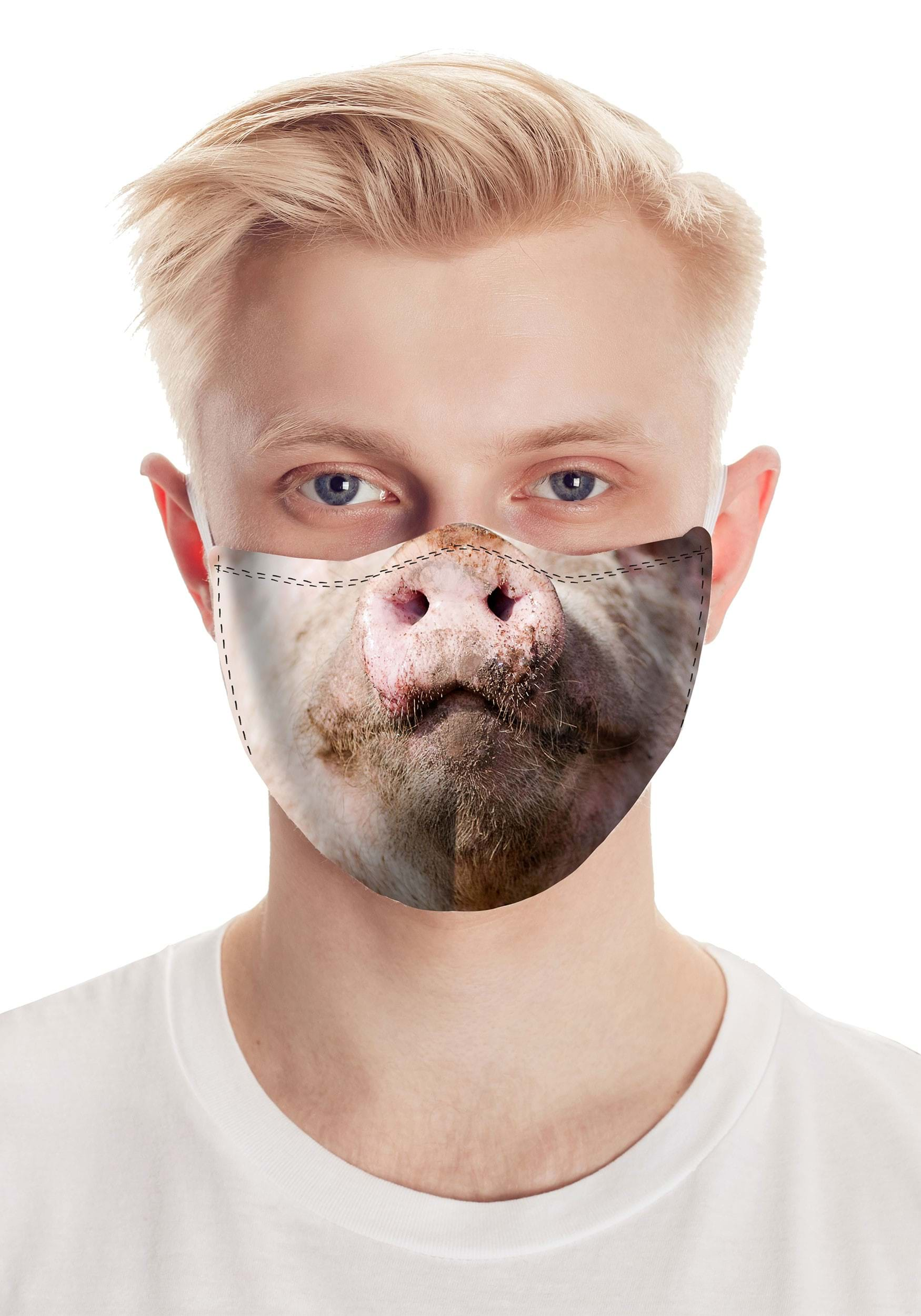 Total Pig Realistic Face Mask