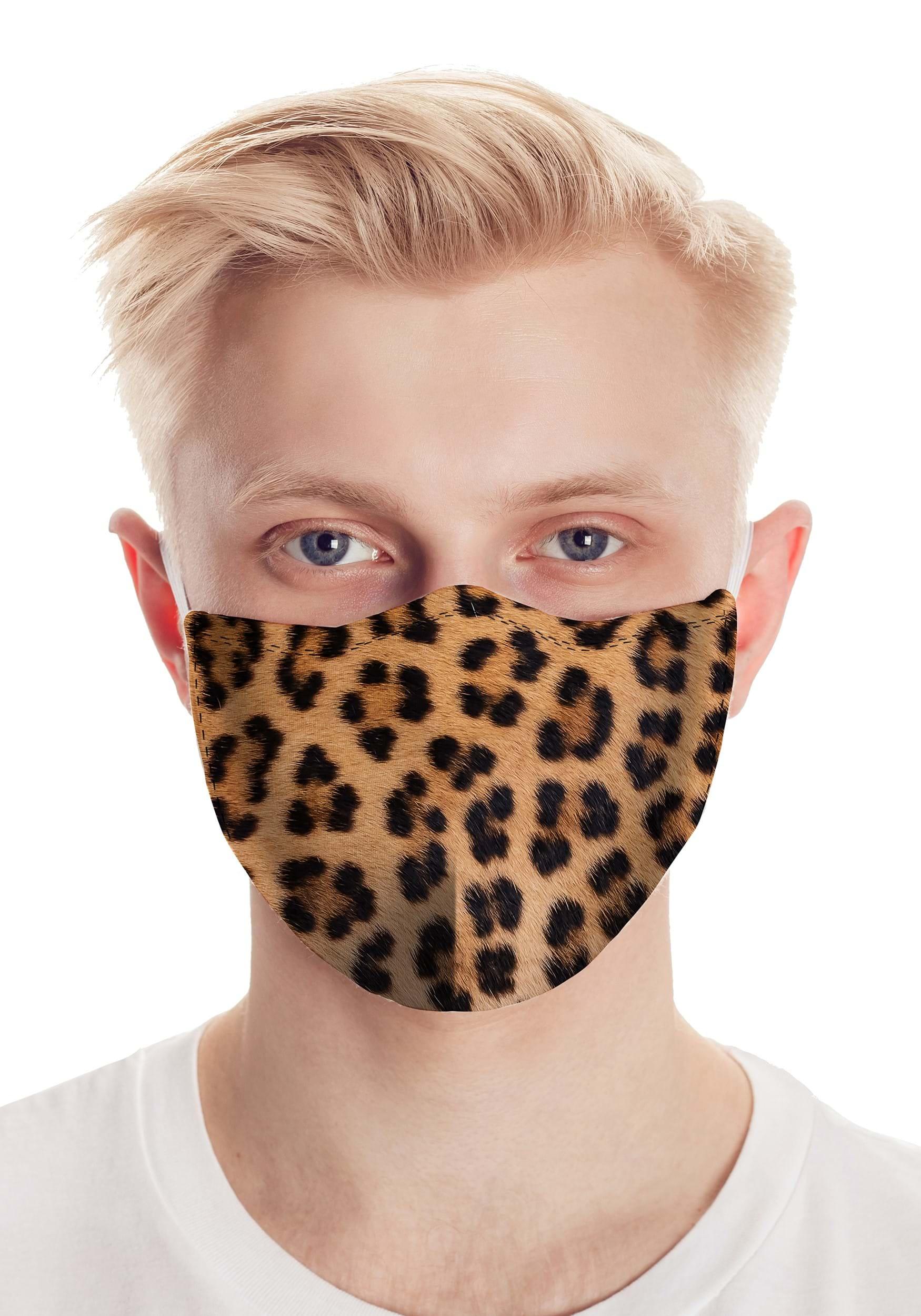 Leopard Spot Safety Face Mask