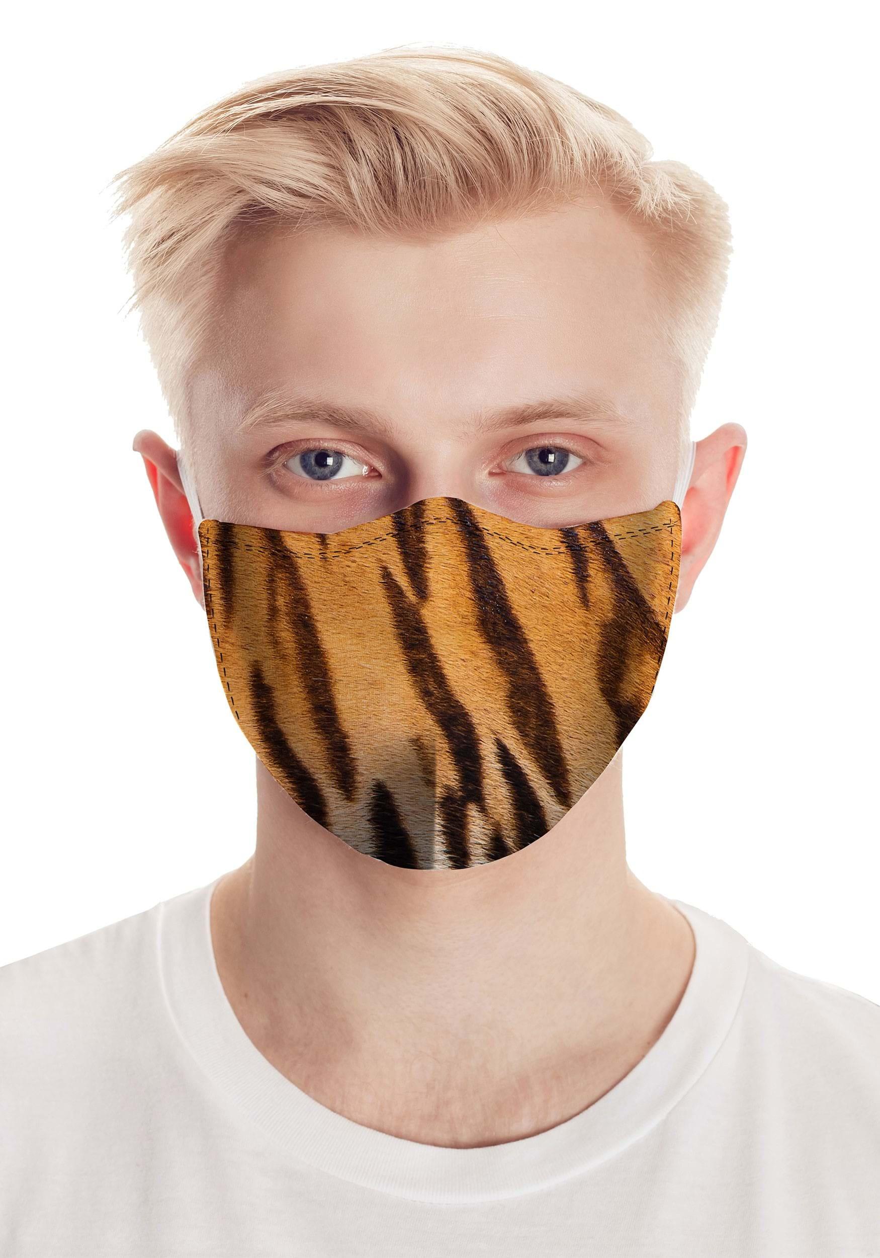 Tiger Stripes Safety Face Mask
