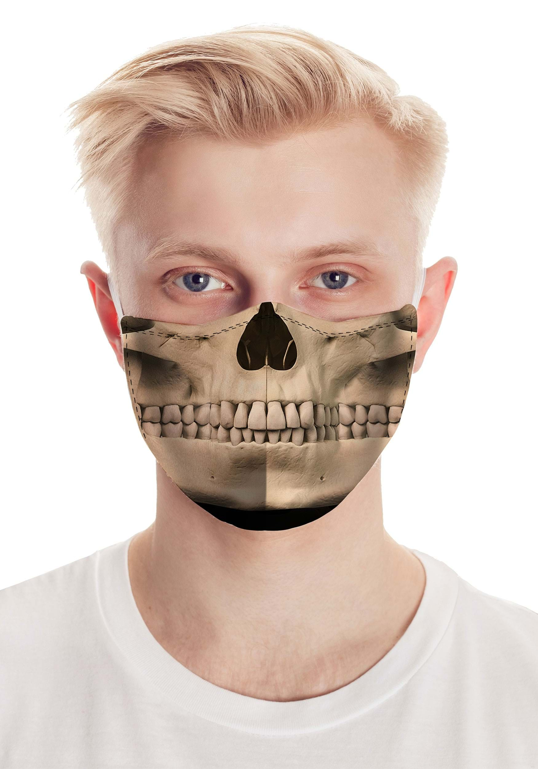 Realistic Skull Face Mask
