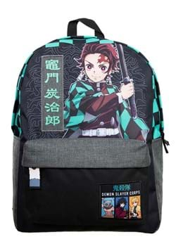 Demon Slayer Checker Print Backpack
