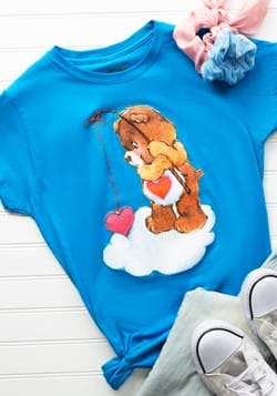 Womens Tenderheart Bear Fishing T-Shirt