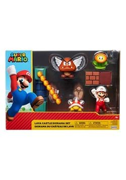 World of Nintendo 2 1/2 Inch Lava Castle Diorama P