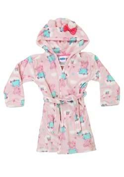 Toddler Girls Peppa Pig Pink Bathrobe