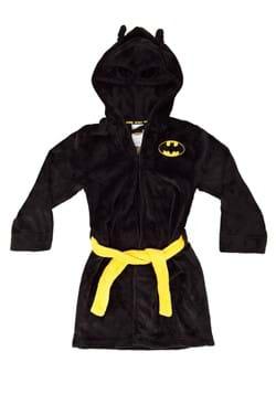 Boys Batman Black Bathrobe