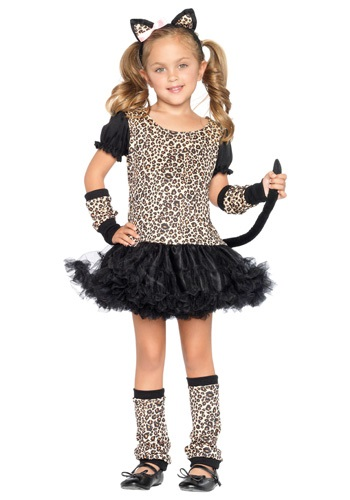 Child Tutu Leopard Costume