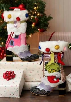 """Irregular Choice The Grinch """"I'm here for the Pres-1-1"""